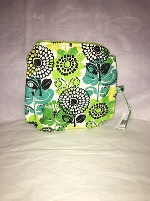 Vera Bradley Large Cosmetic Bag In Limes Up NWT
