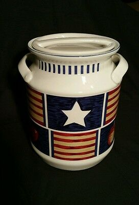 Tienshan AMERICANA Large Canister with Lid