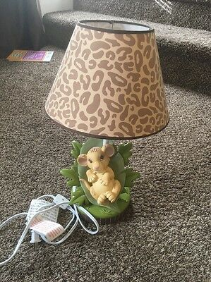 Disney The Lion King Simba Nursery Lamp with Shade Tested Great Condition