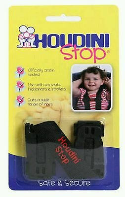 New Houdini Stop Car Seat Safety Harness Chest Strap