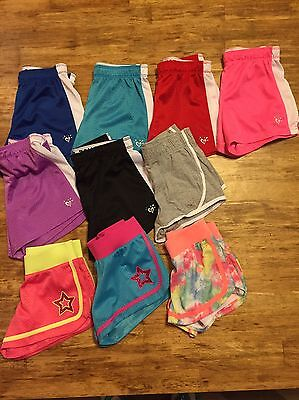 Girls Justice Lot Of 10 Shorts 8 Kids