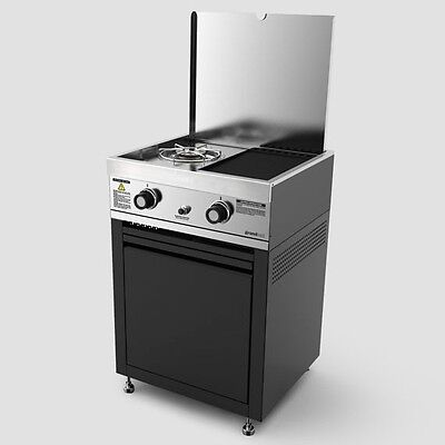 Grand Hall STAINLESS STEEL BBQ