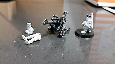 Warhammer 40k Imperial Guard Mordian Heavy Weapons Autocannon Team