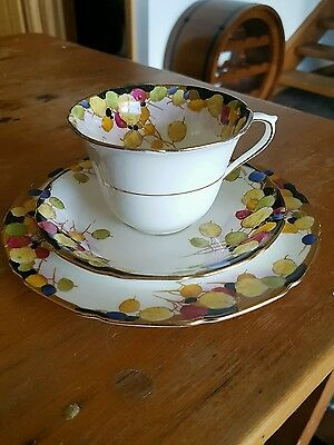 """Royal Doulton """" Honesty """" Trio,  Cup/Saucer/Plate."""