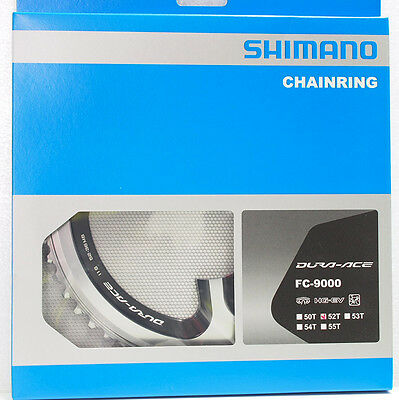 Shimano Dura Ace FC-9000 Chainring 52T for 52-36T, 11 Speed