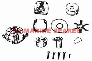 A1 438579 Evinrude Johnson Outboard Water Pump Kit 70hp-75hp 1974-1978 3 cyl & h