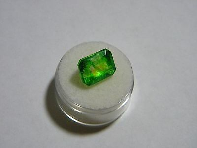 *(ESTATE) 9.35 C. SI-I1 Certified Natural Loose Colombian Emerald Gemstone NICE!