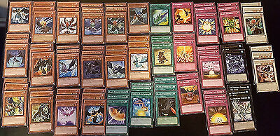 Huge Yugioh Blackwing Deck Support Lot - 84 Cards - Monsters/Spells/Traps/Extra