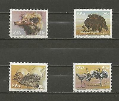 SOUTH WEST AFRICA - 1985 South African Ostrich   - MINT UNHINGED SET.