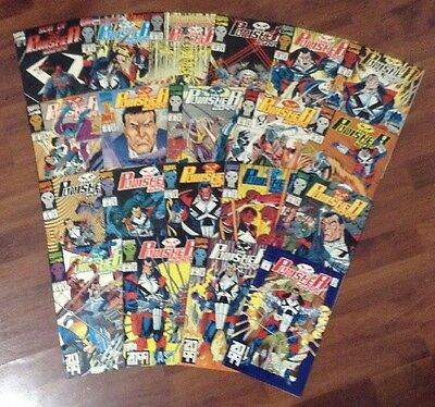 The Punisher 2099  Lot Of Marvel Superheroes Comic Books 1-21