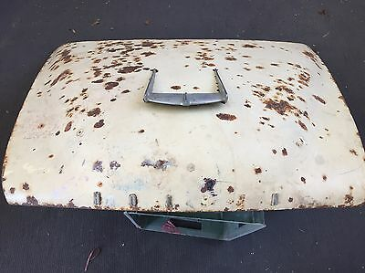Holden Fc Bonnet With Emblem Rust Free Straight Fe