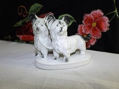 Vintage Porcelain Scotti dogs figurine made in Germany