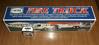 Hess Oil Lights & Sound Toy - 2000 Ladder Fire Truck