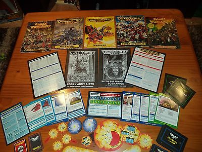 Warhammer 40.000 Books And Cards
