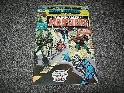 Marvel Premiere 28 1St Legion Of Monsters Ghost Rider Morbius Man-Thing!
