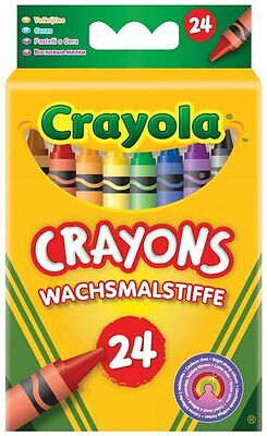 Wax Crayons For Colouring Crayola Pack Colour Kids Children Art Drawing For Book