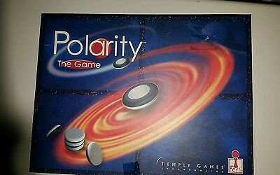 POLARITY Magnetic board game, Temple Games -VINTAGE RARE