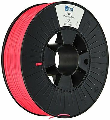 Ice Filaments Ice 7valp019ABS filamento, 1,75mm, 0,75kg, Precious Pink