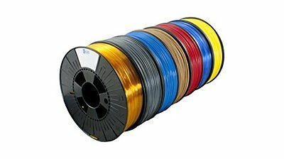 Ice Filaments Ice 7valp170PLA Filament, 2,85mm, 0,75kg, Groovy oro
