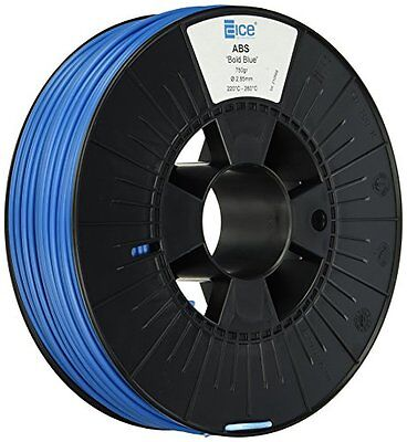 Ice Filaments Ice 7valp028-Filamento in ABS, 2,85mm, 0,75kg, Bold Blue