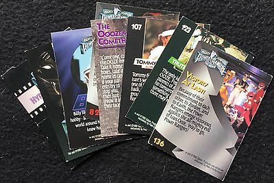 MIGHTY MORPHIN POWER RANGERS, TRADING CARDS - The Movie, 1995, 8 Cards, Fleer