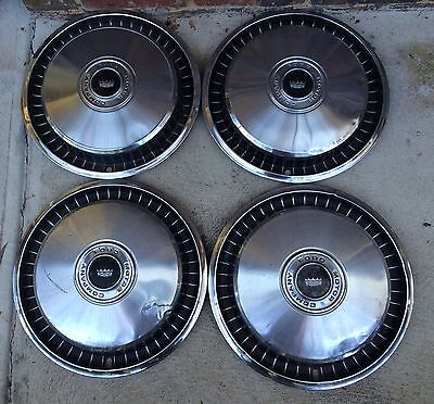 FORD GALAXIE.  F100 XLT...Hub caps..SET OF 4.....15""