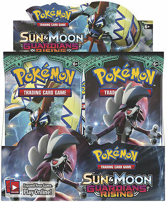 Pokemon TCG: Sun and Moon Half Booster Box - 18 Booster Packs - Pre-Order
