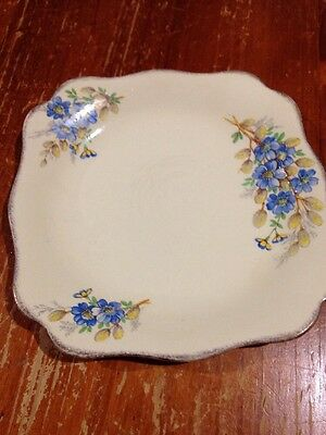 Antique Plate With Reg No.