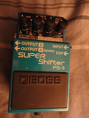 Boss Ps 5 Pitch Super Shifter Detune Harmonizer Awesome Condition