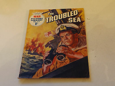 WAR PICTURE LIBRARY NO 117!,dated 1961!,GOOD for age,great 56!YEAR OLD issue.
