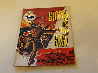 WAR PICTURE LIBRARY NO 223!,dated 1963!,GOOD for age,great 54!YEAR OLD issue.