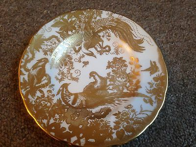 "Royal Crown Derby 6"" Plate - Gold Aves A1235"