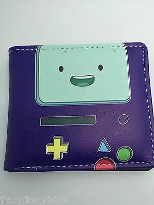 New anime Adventure Time womens mens boys wallets Coin purse Free shipping
