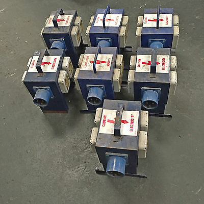 7 x  outdoor Distro units 32amp in to 4 x 13amp socket outlets EVENTS