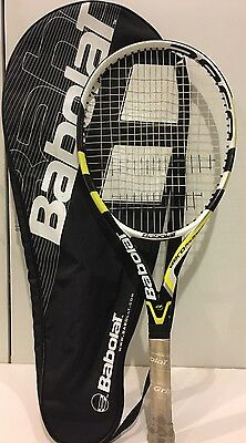 Babolat Aero Pro Drive Junior Tennis Racket With Black Cover Bag