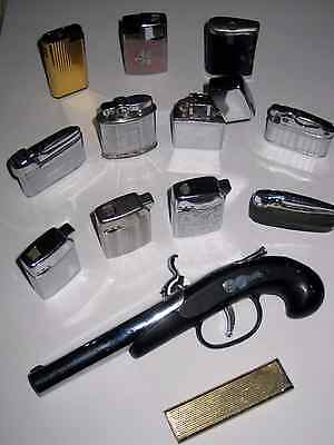 Vintage Collection of  Cigerette Lighters (Sold as Seen)