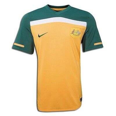Nike 2010 World Cup Australia Socceroos Soccer Jersey Rare Size Large