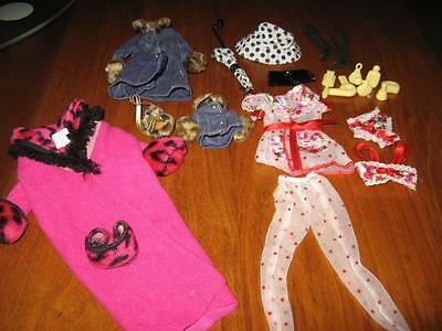 Barbie Fashion Outfits, Umbrella & Hat, Boots, Sleepwear, Coats,  Accessories-#7