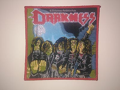 DARKNESS woven patch SLAYER TOXIC HOLOCAUST CELTIC FROST VEKTOR   shirt lp cd