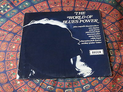 The World of Blues Power LP UK press Excellent+++