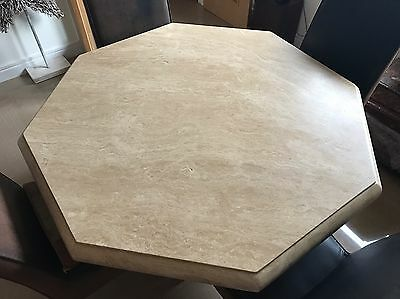 Octagonal Dining Room Table and 4 chairs