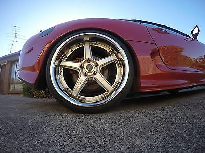 Full Set Vertini Drift 20x10 - 20x8.5 with tyres + 4 spares