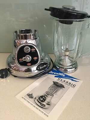 Breville Classic Blender With Glass Jug