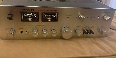 Scott A-460 Amplificatore Made in USA 2x70w rms