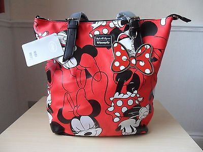 NEW Disney Large Loungefly MINNIE MOUSE Hand ~ Shoulder Bag