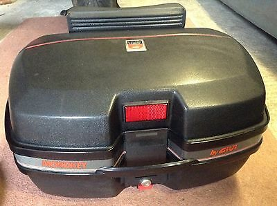 Givi Two Helmet Top Box And Mounting Plate