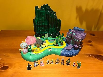 Vintage Polly Pocket Wizard Of OZ Playset 100% Complete VGC