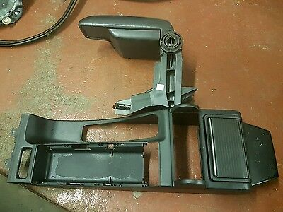 BMW E46 M3 Convertible Cabriolet Black Nappa Arm Rest and Center Consol Upgrade