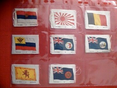 """Phillips Ww1/great War Era 1914-18.""""flags"""" 8/50 Different From 5Th Series. Lot 2"""