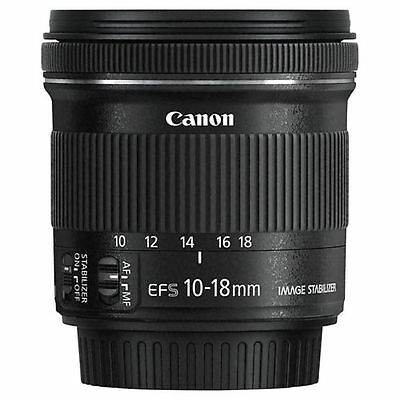 NEW - Canon EF-S 10-18mm f/4.5-5.6 IS STM Wide Angle Lens - UK STOCK - WARRANTY